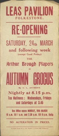 Poster for 'Autumn Crocus'