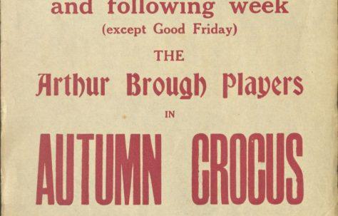 Poster for 'Autumn Crocus'