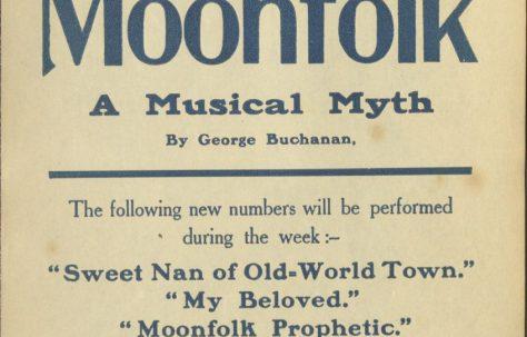 Poster for 'Moonfolk'