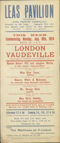 London Vaudeville