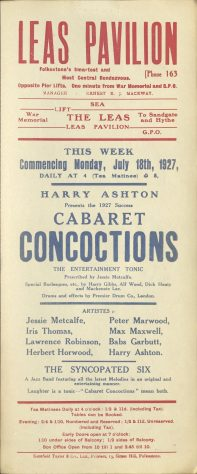 Poster for 'Cabaret Concoctions'