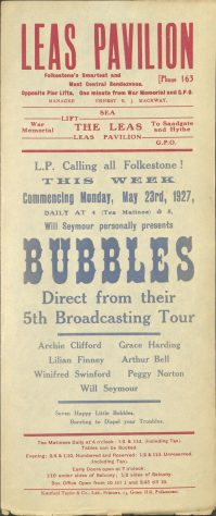 Poster for 'Bubbles'