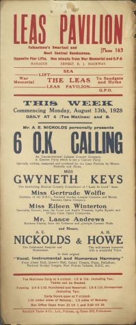 Poster for '6 OK Calling'