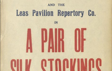 Poster for 'A Pair of Silk Stockings'