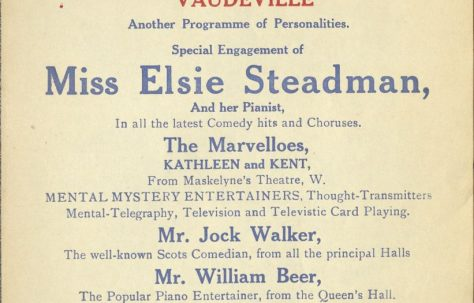 Poster for 'London Comedy Vaudeville'