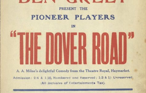 Poster for 'The Dover Road'