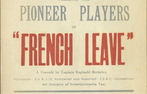 Poster for 'French Leave'