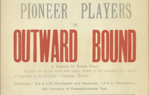 Poster for 'Outward Bound'