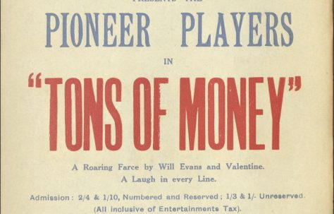 Poster for 'Tons of Money'