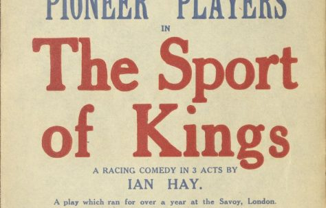 Poster for 'The Sport of Kings'
