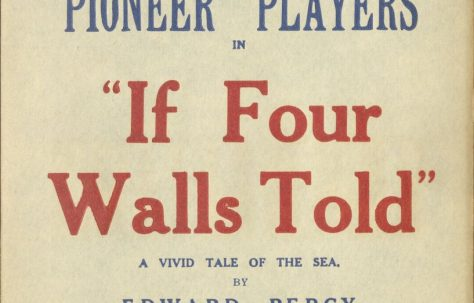 Poster for 'If Four Walls Told'