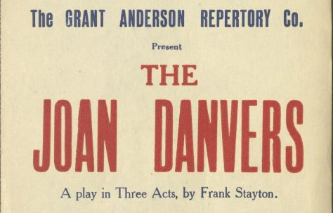 Poster for 'The Joan Danvers'