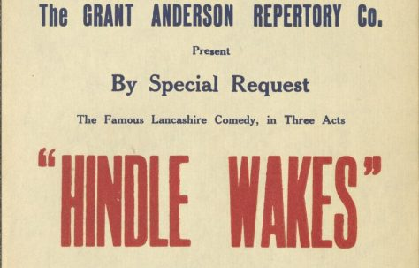 Poster for 'Hindle Wakes'