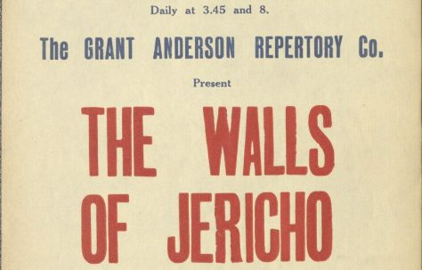 Poster for 'The Walls of Jericho'