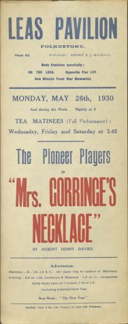 Mrs Gorringe's Necklace