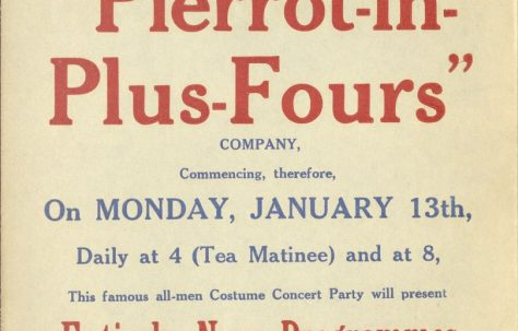 Poster for 'Pierrot-In-Plus-Fours'