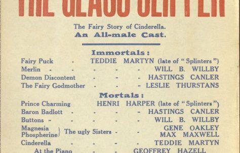 Poster for 'The Glass Slipper'
