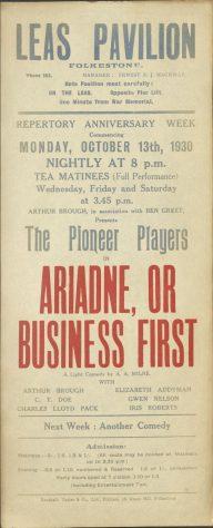 Ariadne Or Business First