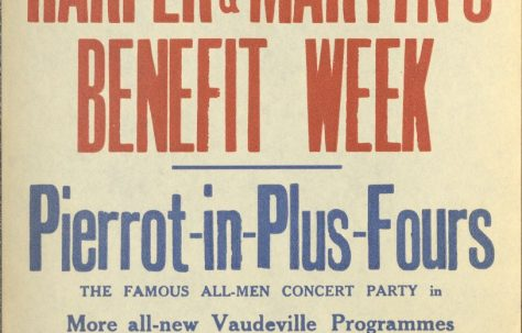 Poster for 'Harper & Martyn's Benefit Week'