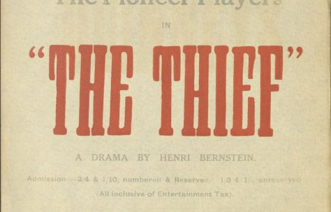 Poster for 'The Thief'