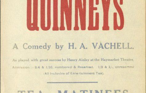 Poster for 'Quinneys'