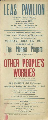 Other People's Worries