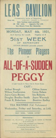 All Of A Sudden Peggy