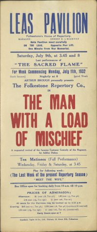 The Man With A Load Of Mischief