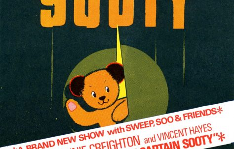 Flyer for 'Sooty, a Brand New Show with Sweep, Soo and Friends'
