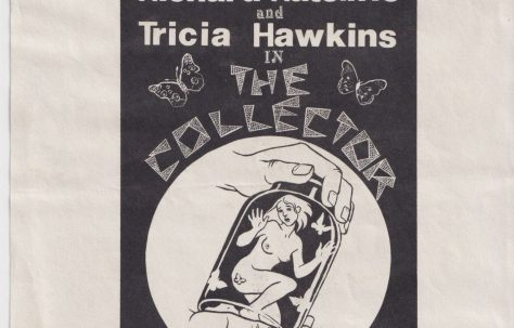 Flyer for 'The Collector'