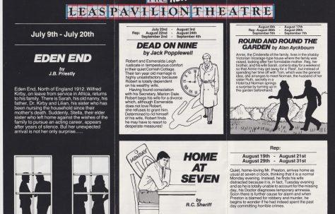 Leaflet Summer 1985
