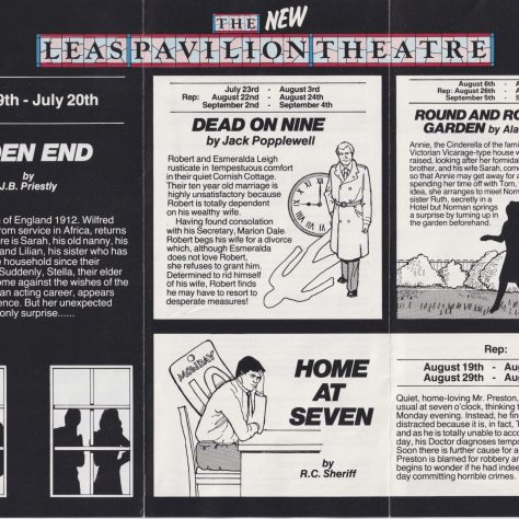 Leaflet Summer 1985