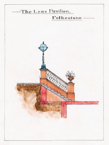 Print of Architect's original drawing