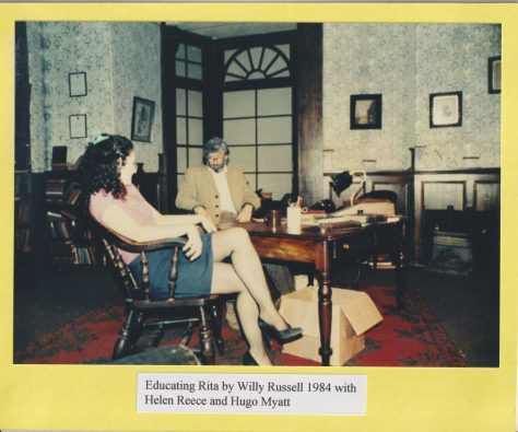Educating Rita' by Willy Russell 1984 with Helen Reece and Hugo Myatt