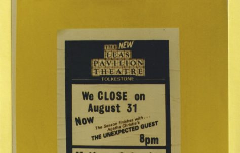 The last poster showing closure on 31st August 1985