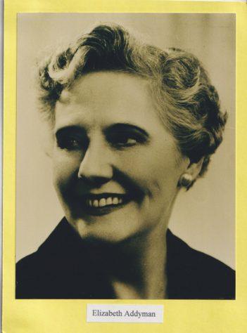 Photograph of Elizabeth Addyman