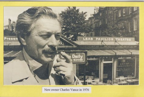 New owner Charles Vance in 1976
