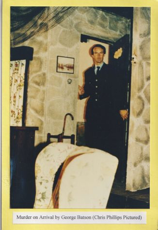 Murder on Arrival by George Batson (Chris Phillips pictured)