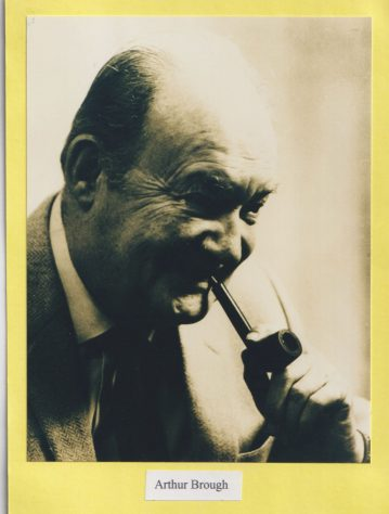 Photograph of Arthur Brough