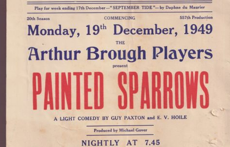 Poster for 'Painted Sparrows'
