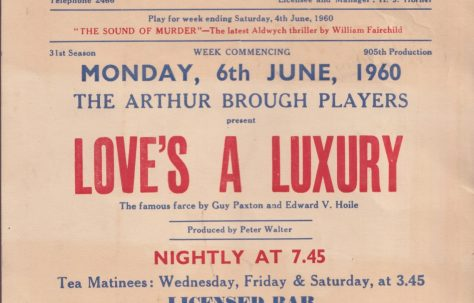 Poster for 'Love's a Luxury'