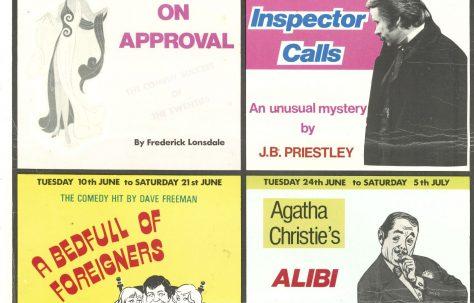 Poster for 'Folkestone Theatre Company summer season 1980'