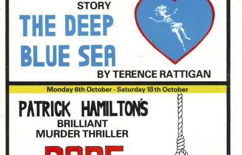 Poster for 'The Deep Blue Sea' and 'Rope'