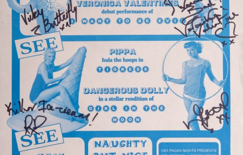 Poster for 'Burlesque Cabaret'