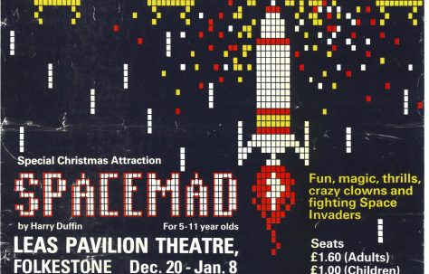 Poster for 'Spacemad'