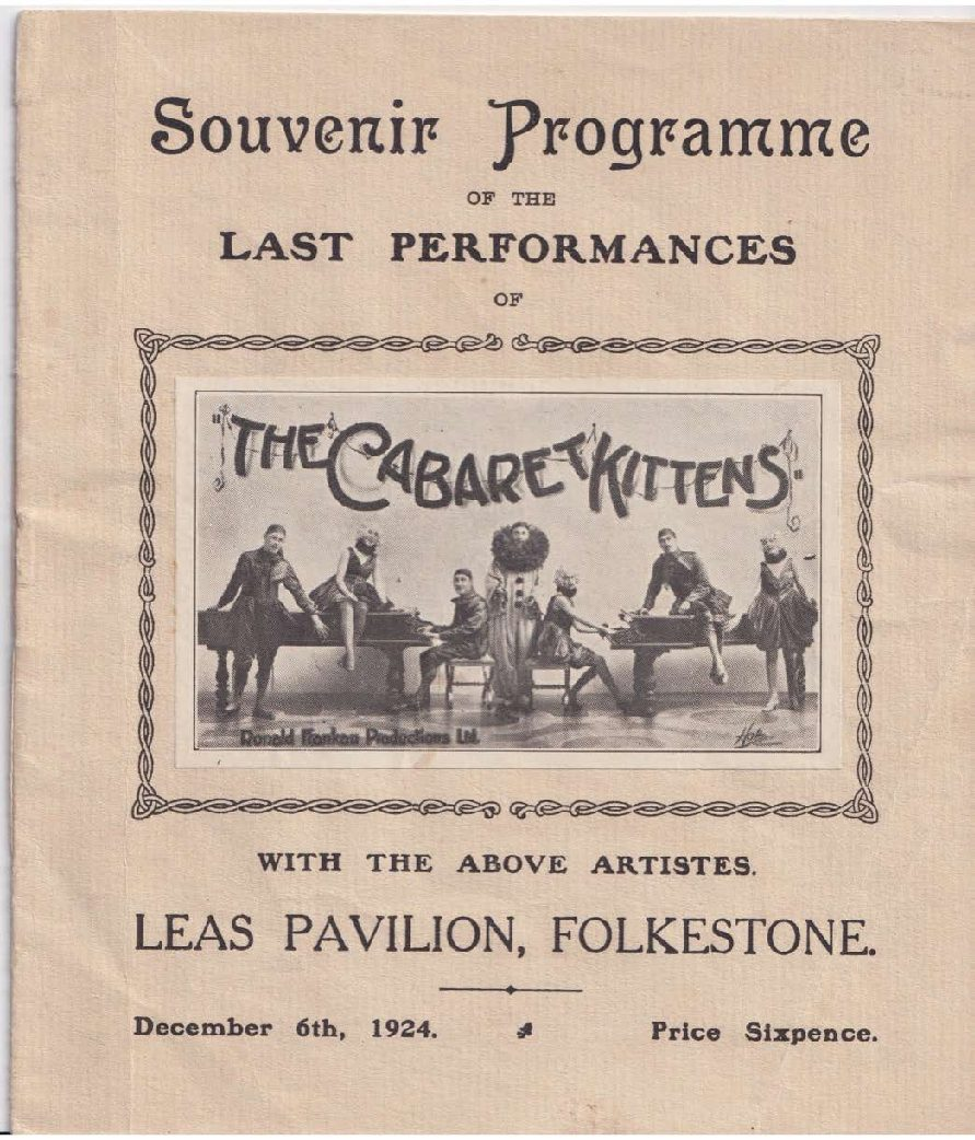 Programme of the Last Performances of The Cabaret Kittens
