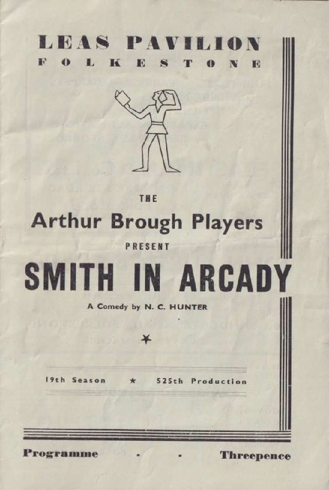 Programme for 'Smith in Arcady'