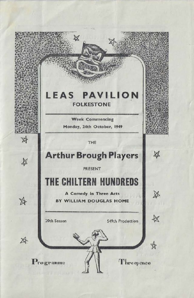 Programme for 'The Chiltern Hundreds'