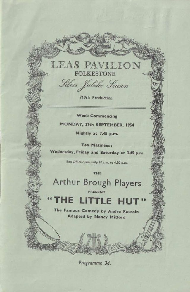 Programme for 'The Little Hut'
