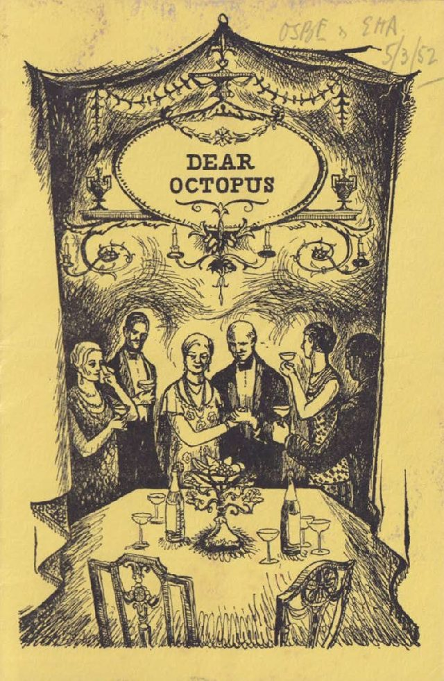 Programme for 'Dear Octopus'